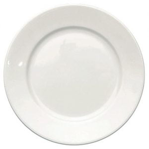 "Side Plate 6.5"" Plain White (packs of 10)"