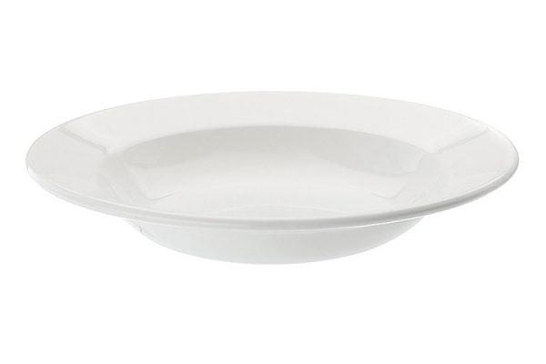 """Soup/Pasta Bowl Rimmed 8.5"""" Plain White (packs of 10)"""