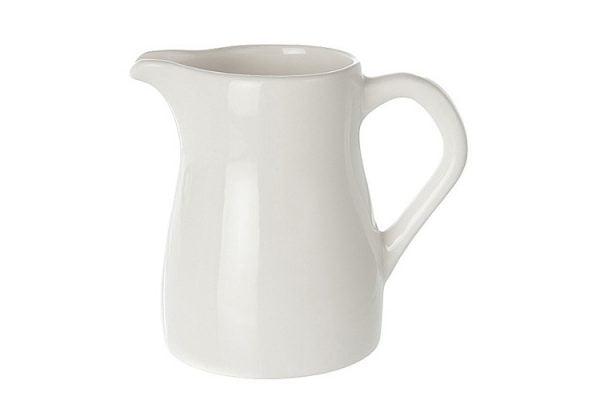 Milk Jug 14oz Plain White