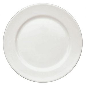 "Dinner Plate 10"" Plain White (packs of 10)"