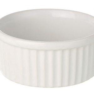 "Ramekin Dish 3"" Small Plain White"