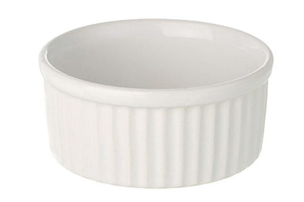 "Ramekin Dish 3"" Small Plain White"