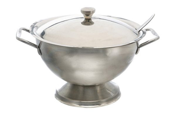 Soup Tureen Lid Stainless Steel