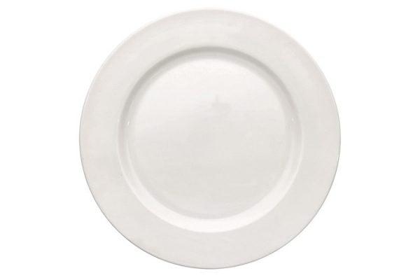 """Buffet Plate 9"""" Plain White (packs of 10)"""