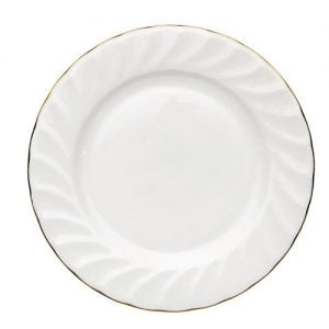 "Dessert/Starter Plate 7.5"" Gold Line (packs of 10)"