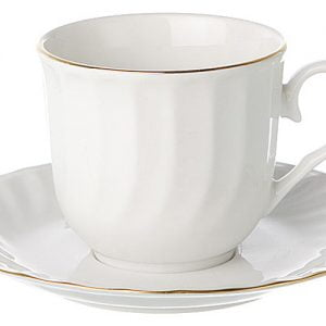 Tea/Coffee Saucer Gold Line (packs of 10)