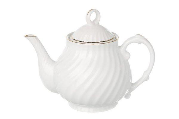 Tea Pot Gold Line