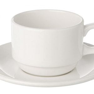Tea/Coffee Cup Plain White (packs of 10)
