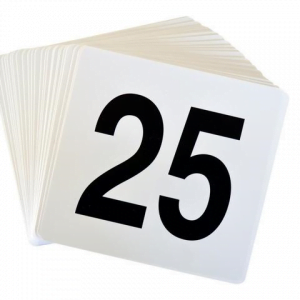 Table Numbers (Pack of 25)