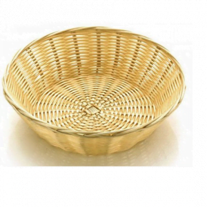 Wicker Bread Basket 10""