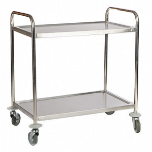Service Trolley 2 Shelf