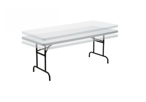 Adjustable Height 6' Long Table