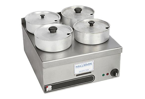 Bain Marie Electric 4 Pot