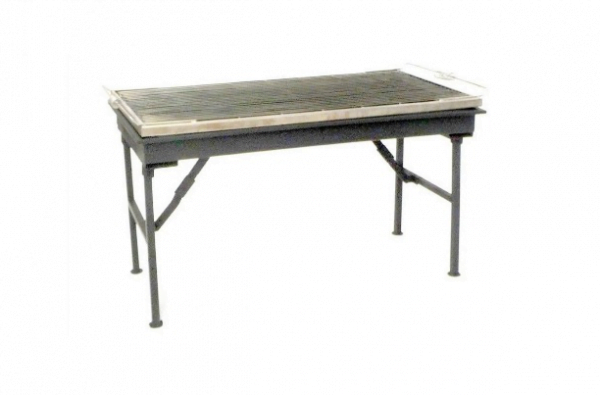 Barbecue Charcoal 4' x 2'