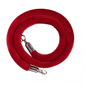 Barrier Post Rope (Red/Blue)