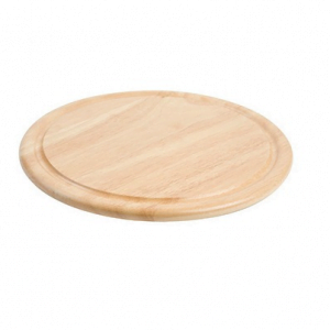 "Wooden Cheese Board 11"" Diameter"