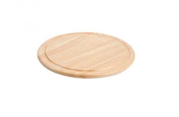 "Wooden Cheese Board 11"" Diameter"