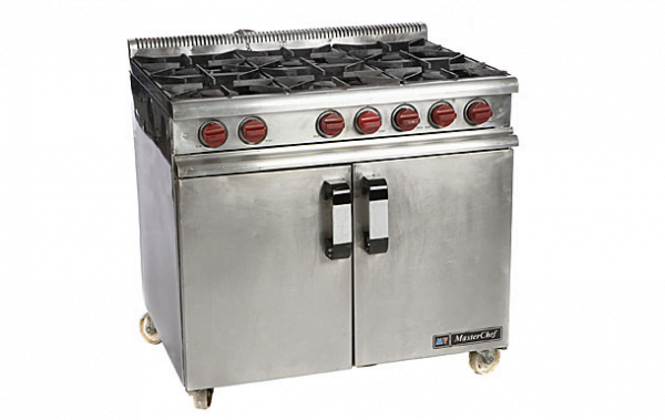 Cooker 6 Burner With Oven - L.P. Gas