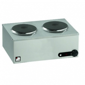 Two Ring Hob Unit - Electric