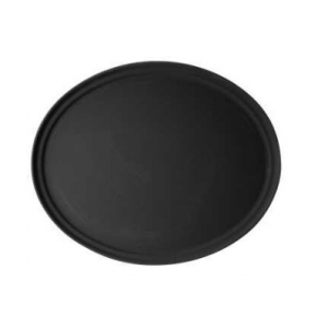"Large Oval Waiter's Tray 27"" x 23"""