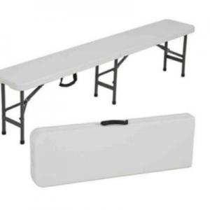 Bench Plastic 6' Long Folding