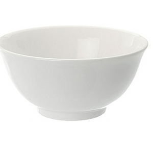 "Rice Bowl 4.5"" Plain White"