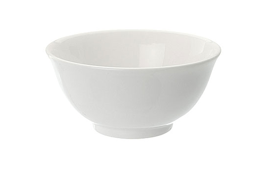 "Rice Bowl 4.5"" Plain White"