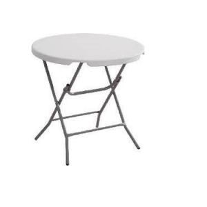"Round Plastic Table 32"""