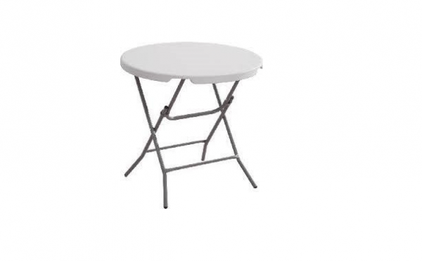 Round Plastic Table 32""