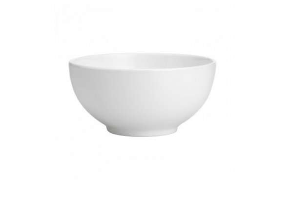"China Bowl 8"" Round Plain White"