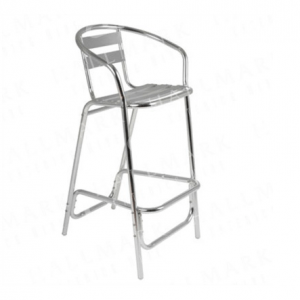 Tall Bar Stool (Aluminium)