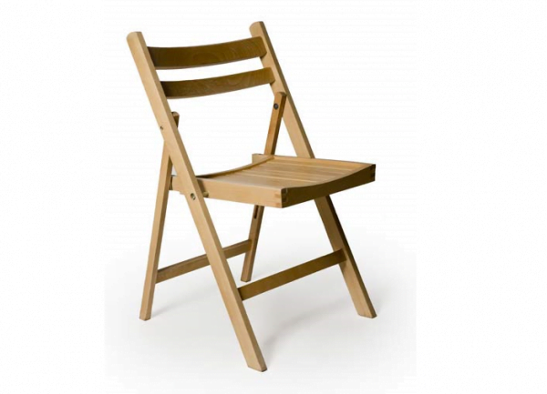Wooden Fold Flat Chair